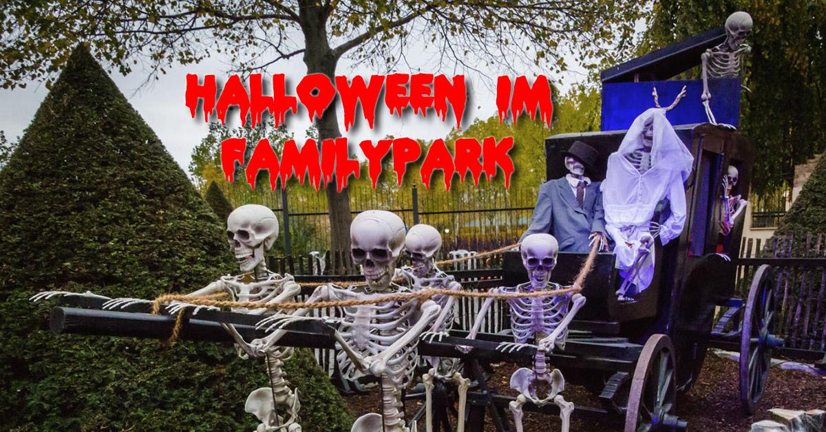 Impressionen von Halloween im FamilyPark